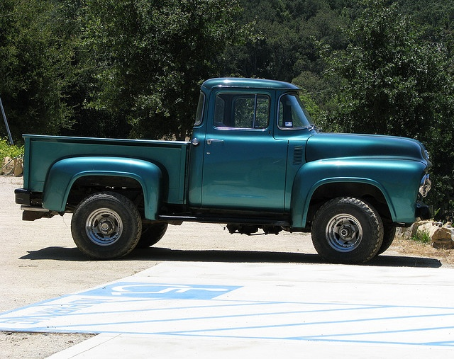 Vintage Pickup Truck, Rocky Creek Cellars | Ford and 4x41956 Ford F100 Lifted