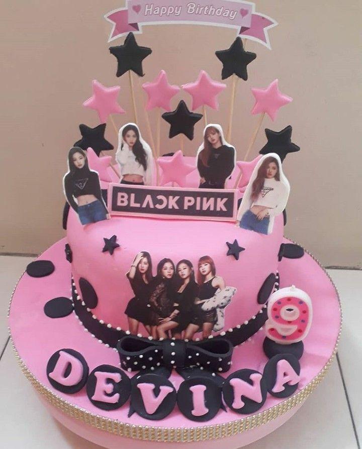 BLACKPINK Birthday Cake Ideas / Birthday Party Kpop Inspiration | 16th  birthday cake for girls, Themed cakes, Birthday party cake