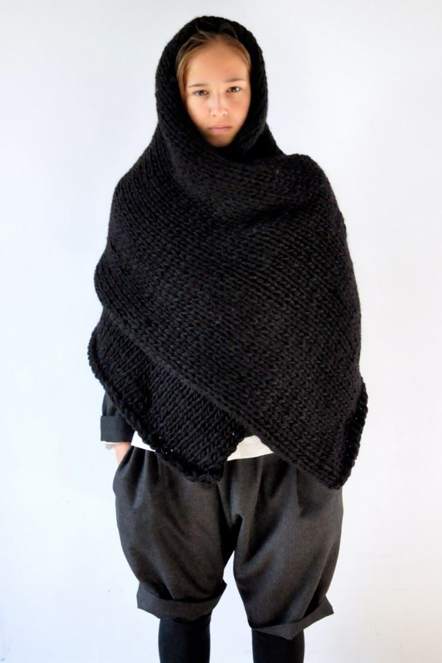 wrap - knitting inspiration