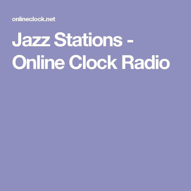 Jazz Stations - Online Clock Radio