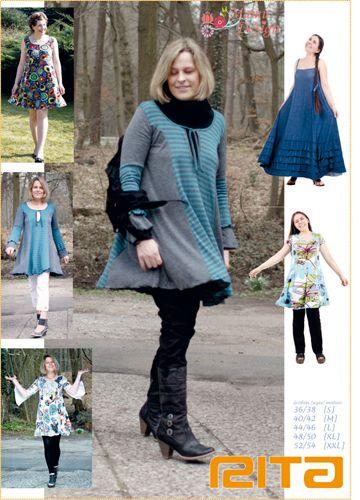 Kleider & Schürzen - Schnittmuster Rita - ein Designerstück von LajaW bei DaWanda
