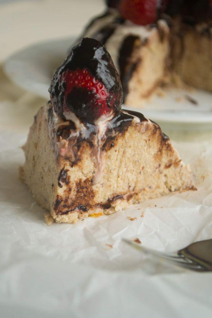 Çilekli Muzlu Cheesecake – Bade'nin Şekeri