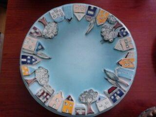 Handgemachtes Keramik Teller / Handmade Ceramic Plate / El yapımı seramik Tabak