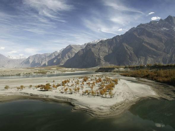Cordilheira Karakoran, China-Paquistão