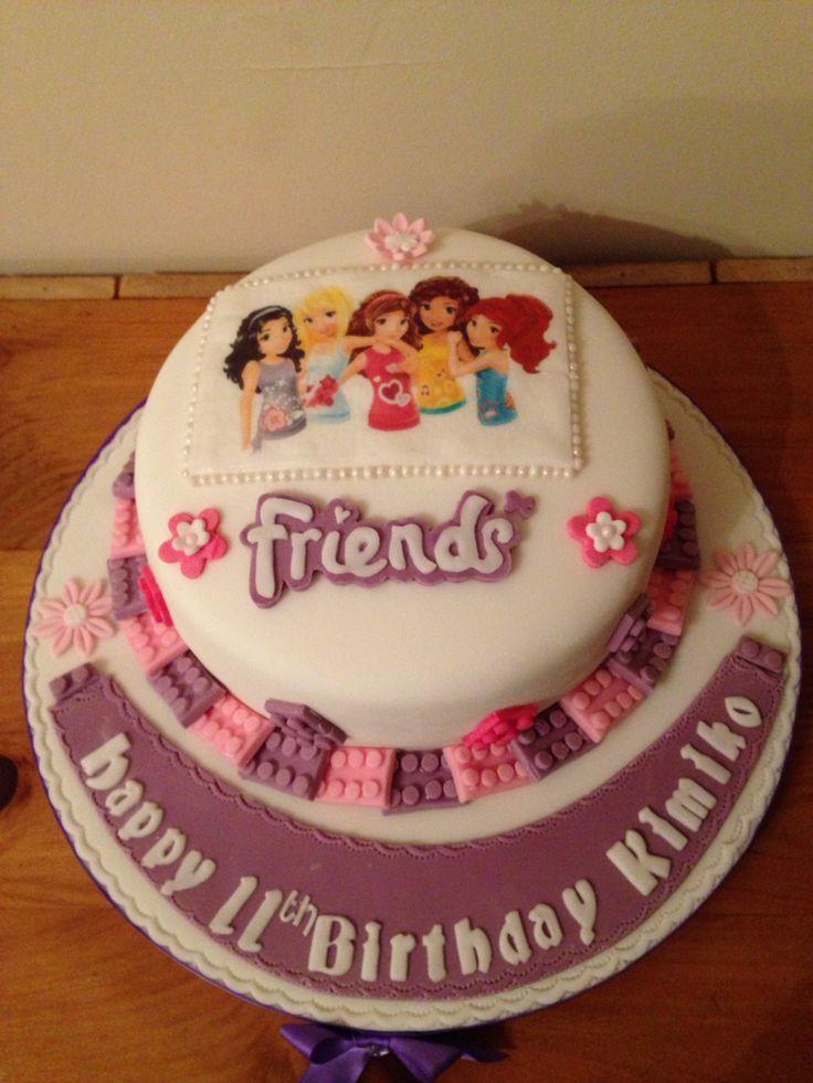 Lego friends cake                                                       …