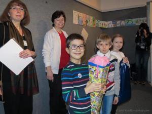 Knihovna města Plzně ocenila nejpilnější čtenáře z kategorie školních tříd. Zapojila se tím do šestého ročníku celorepublikové soutěže Čtenář roku 2016, jejíž absolutní vítěz bude vyhlášen počátkem dubna v Praze.