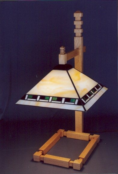 Wright Brothers Stained Glass Lamp : Best frank lloyd wright inspired furniture and