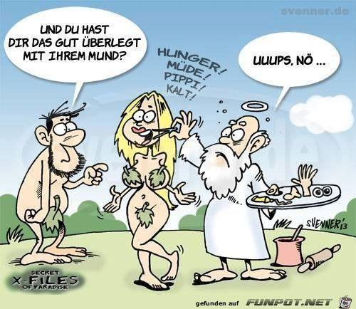 lustiges Bild & # 39; Adam & Eve.jpg & # 39; – Eine von 59949 Dateien in der Kategorie …   – Humor