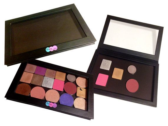 Empty Magnetic Makeup Palette  Large  by PrimpCandy on Etsy