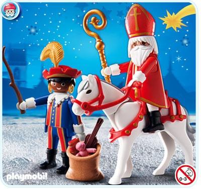 Sinterklaas Playmobile- ohemgee @Alex Landrum only you will appreciate this!