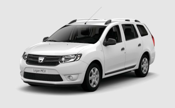 Dacia Logan MCV not so hot but it does the job for not so much :-)