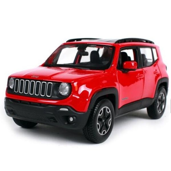 Maisto 1 24 Jeep Renegade City Suv Jeep Cross Country Car Diecast Model Car Toy For Kids Gifts New In Box With Images Jeep Renegade Diecast Model Cars Car Model