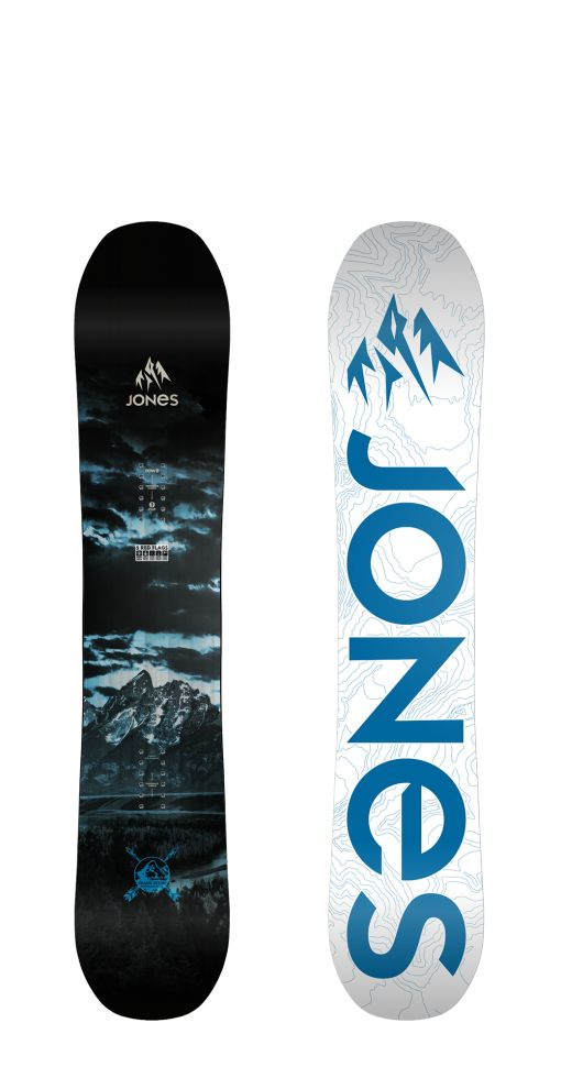 Jones Snowboards - Solids - Discovery