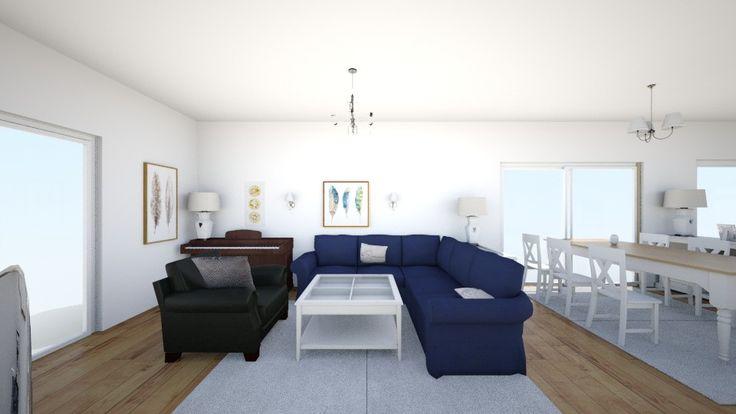 Roomstyler.com - salon ektorp czarny
