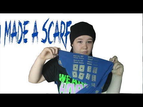 YouTube alice in wonderlabd infinity scarf