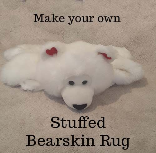 diy bear skin rug from stuffed animal - Bearskin Rug