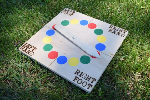 Giant Twister Traditional Spinner SPINNER by CalledandChosenGames
