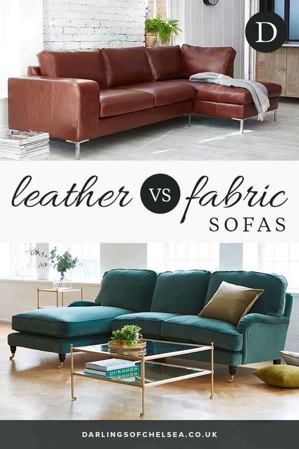 Leather V Fabric Sofas Darlings Of Chelsea Fabric Sofa White