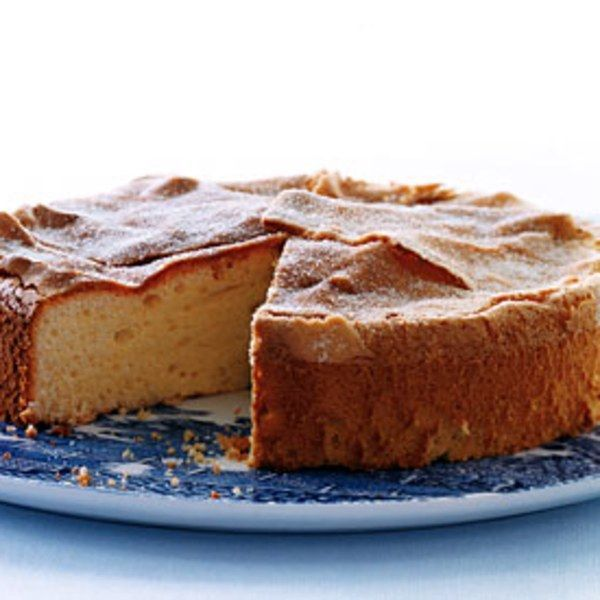 Our food editors were split down the middle as to whether this cake was better when made with extra-virgin or regular olive oil. Using extra-virgin results in a fruitier, more pronounced olive-oil flavor, while regular olive oil yields a lighter taste. Both are delicious — you won't be disappointed with either result.
