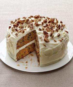 Get the recipe for Carrot Cake.