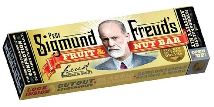 Sigmund Freud's Fruit & Nut Bar.  This exists.