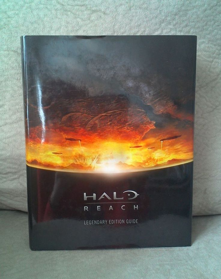 Halo Reach Limited Collectors Legendary Edition Hardcover Stragety Guide