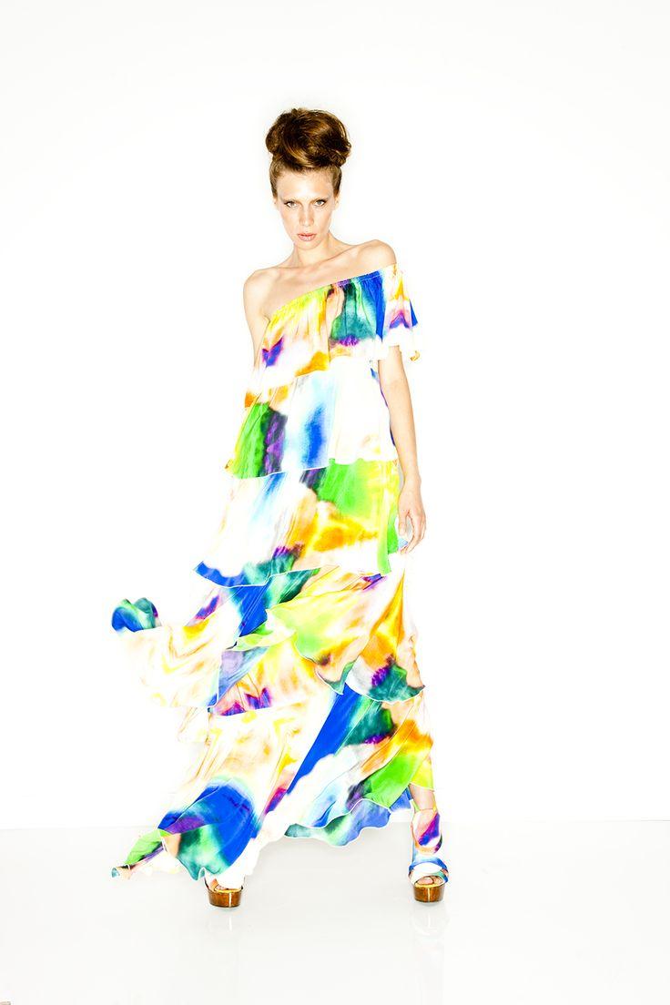 AURA - One shouder layer dress | SS10 | BABYLON | @CAMILLAWITHLOVE #CAMILLAWITHLOVE