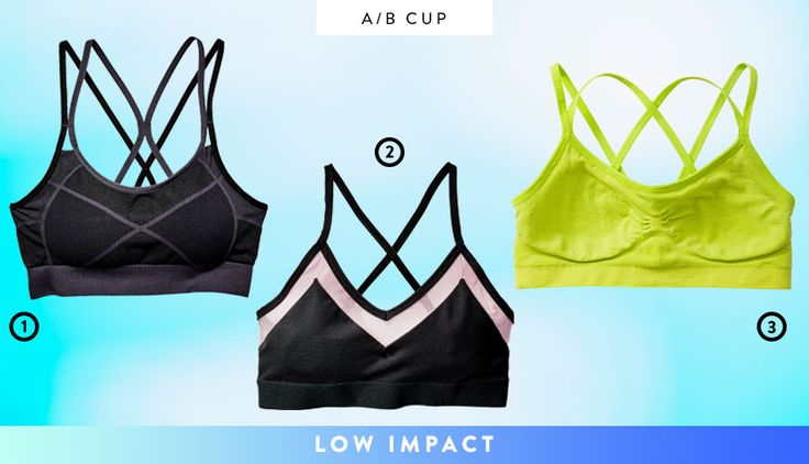 The Best New Sports Bras For Every Cup Size And Workout