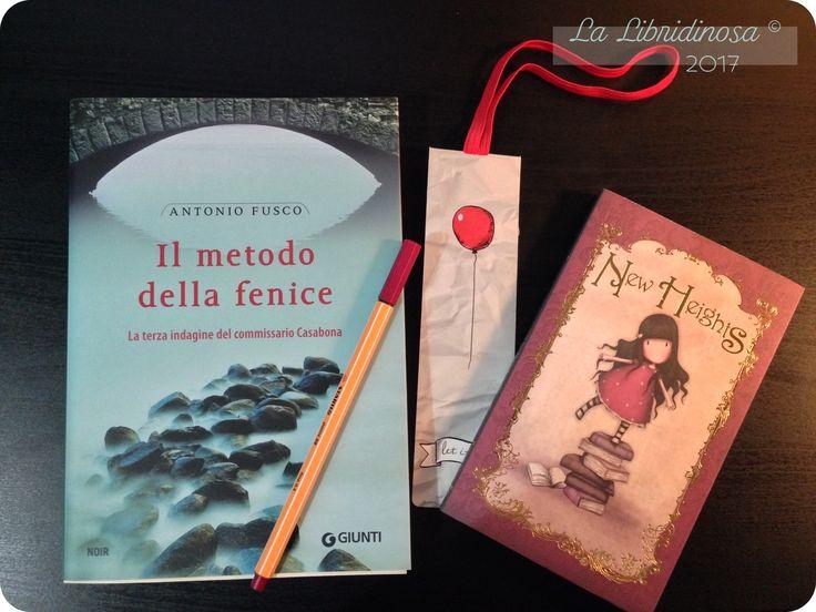 """Recensione """"Il metodo della fenice"""" di Antonio Fusco pubblicato da Giunti  #recensione #ilmetododellafenice #antoniofusco #giunti #lalibridinosa"""
