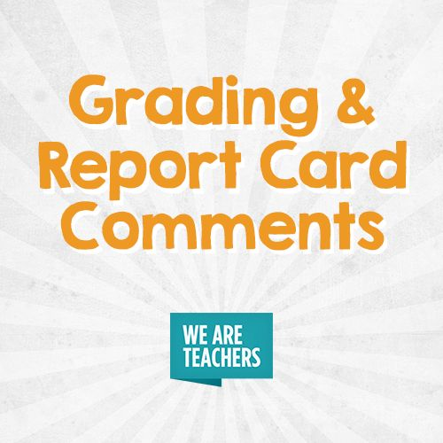 29 best Grading and Report Card Comments images on Pinterest - report card
