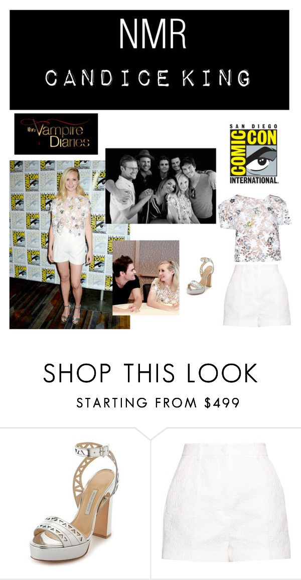 """Outfit #503"" by nmr135 ❤ liked on Polyvore featuring Bionda Castana, Talbot Runhof, Dolce&Gabbana, CandiceAccola, tvd, carolineforbes, comiccon and nmr"