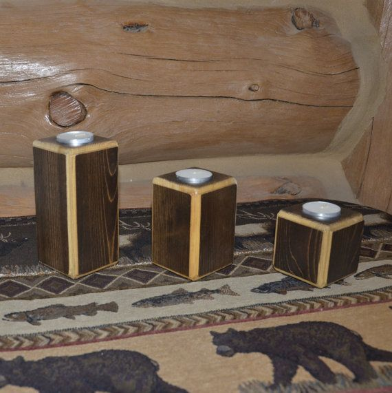 Check out this item in my Etsy shop https://www.etsy.com/listing/484484210/cedar-two-tone-tealight-candle-set
