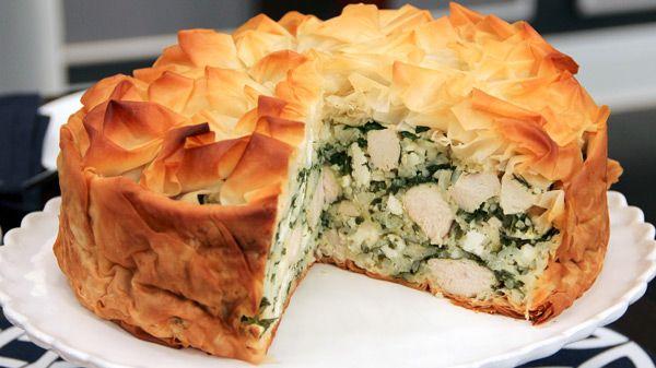 Greek Spanakopita Recipe Food Network