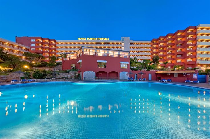 Marina Portals Hotel #Mallorca #Spain #Spanien #Island #Mallis #Ö #Hotel #Vacation #Sol #Bad #Sun #Semester #Palm #Marina #Portals #MarinaPortals #Pool