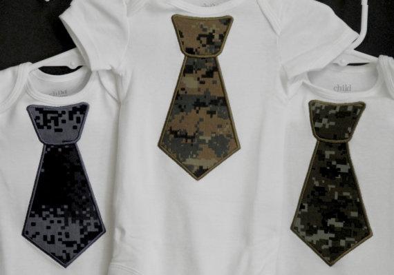 US Marine Digital Camo Tie Camouflage Tie by designsbysusan1,