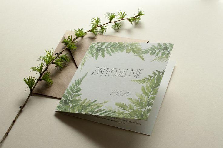 miodunka zaproszenia ślubne Koszalin wedding wedding invitations stationery forest rustical papeteria ślubna