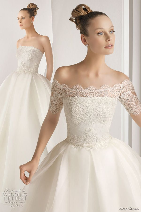 Rosa Clará Wedding Dresses 2012 Advance Collection — Lace Wedding Gowns Galore | Wedding Inspirasi