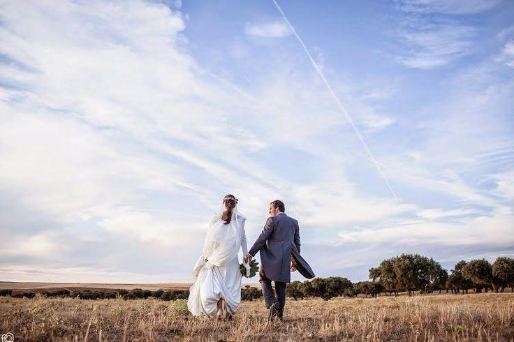 La boda de María y Alfredo: ¡Una boda al aire libre!