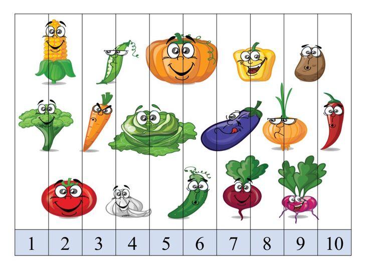 Aprender los números del 1 al 10 con estos puzzles de números divertidos SUPERIMÁGENES -Orientacion Andujar