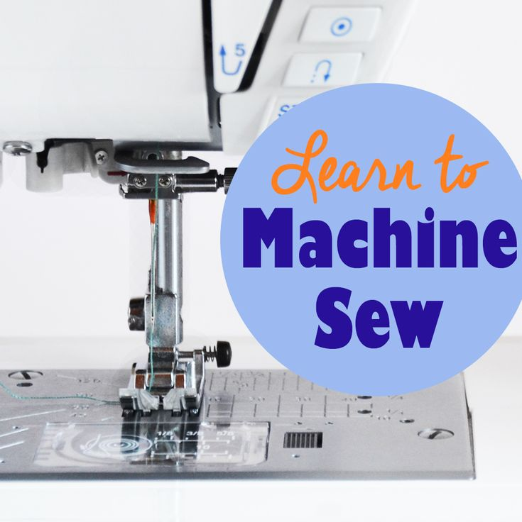 Learn to machine sew with this free sewing course for beginners! Each week learn a technique on the sewing machine and use it in a project with a tutorial!