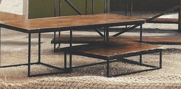 Roost Recycled Wood Coffee Table Duo