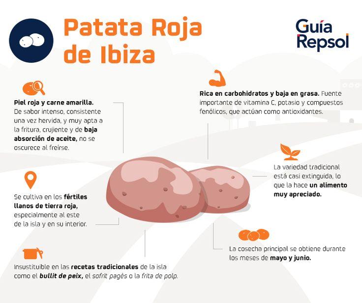 Patata roja de Ibiza y los 10 platos que no te puedes perder de la gastornomía ibicenca. Post en el Blog de Guía Repsol.