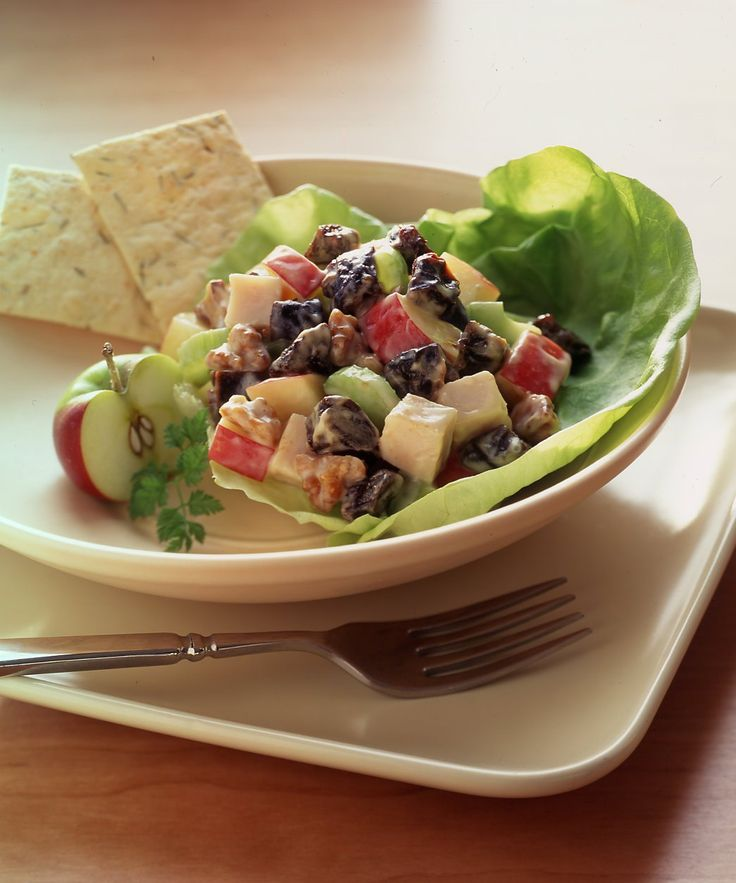 Salada Waldorf light - Ideal Receitas                                                                                                                                                                                 Mais