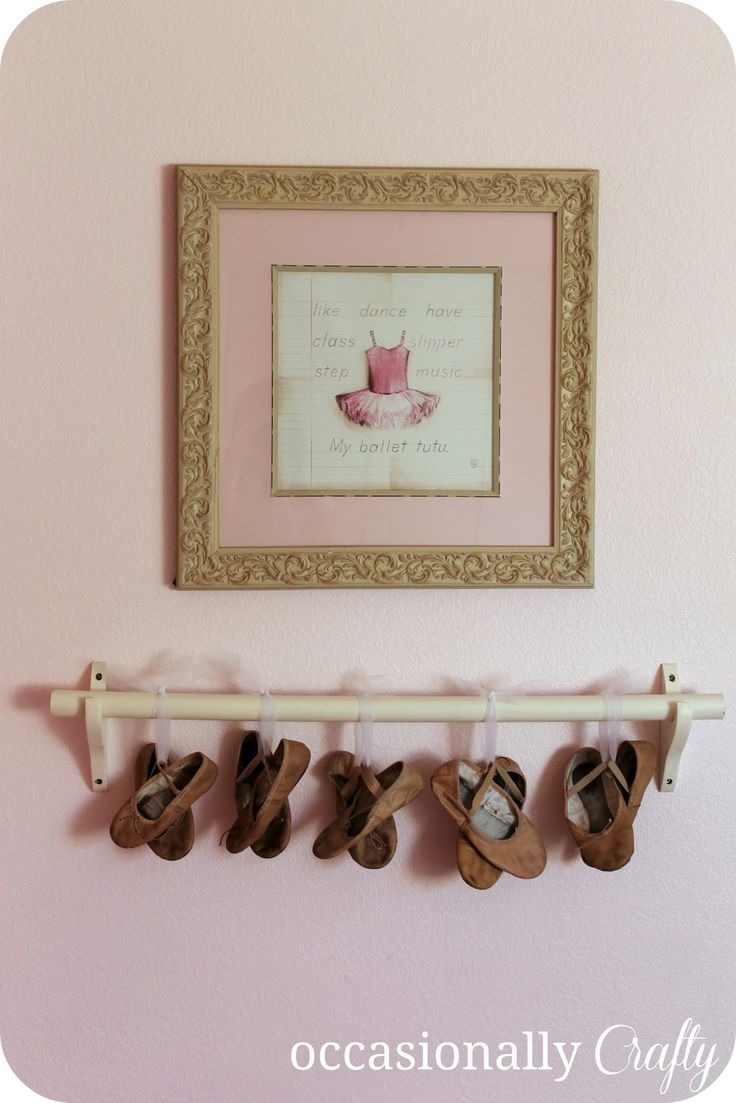 Pink Ballerina Room  A Bedroom Makeover