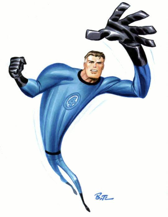 Mr. Fantastic by Bruce Timm