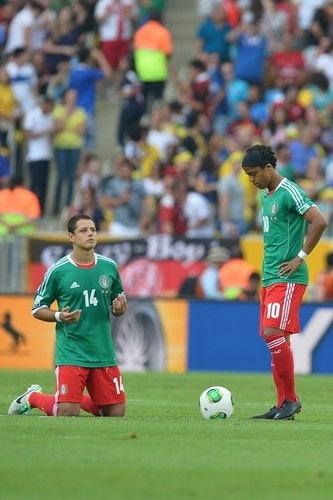 """~ Javier """"Chicharito"""" Hernandez on the Mexico National Team against Italy in the 2013 Confederations Cup ~"""
