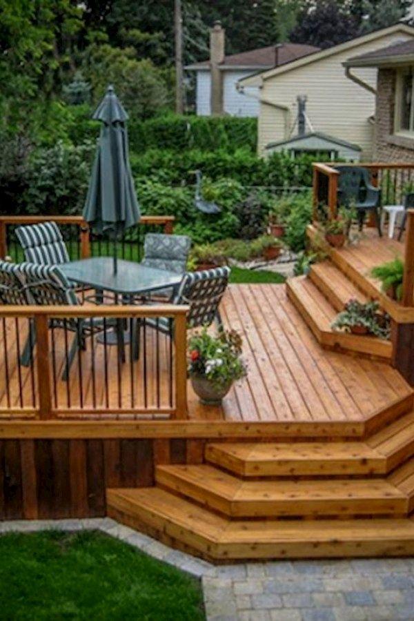 Koi Pond Designs Patio Deck Designs Wood Deck Designs Deck Design