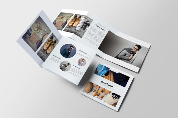 Product Square Brochure by Kahuna Design on @creativemarket