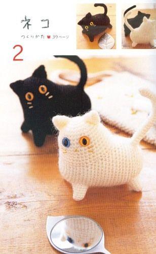 Crochet Amigurumi free pattern cat