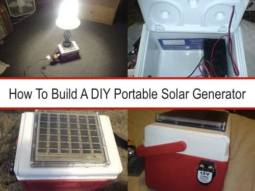 How To Build A DIY Portable Solar Generator  http://homestead-and-survival.com/how-to-build-a-diy-portable-solar-generator/
